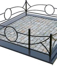 Металлическая ограда №25